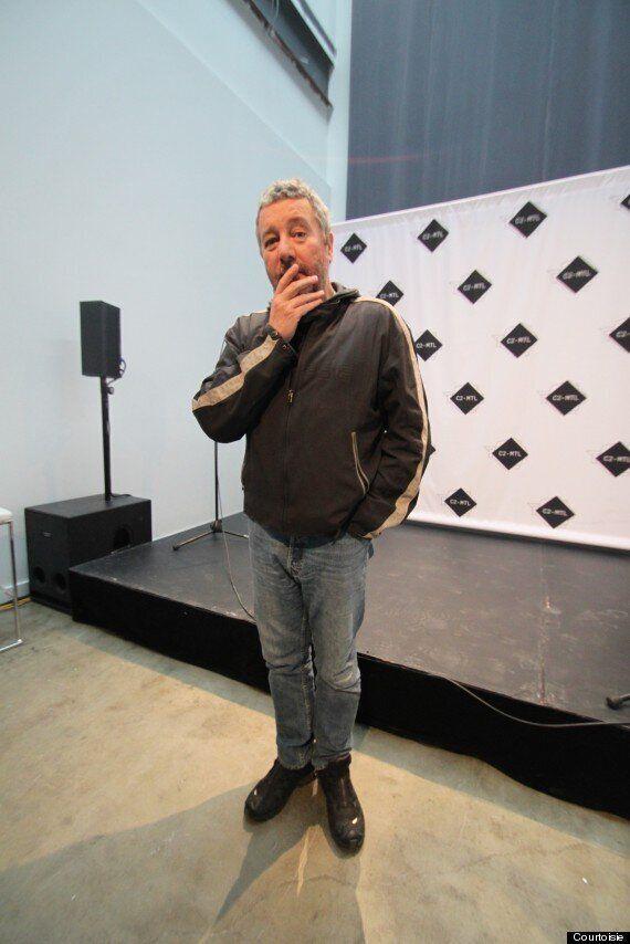 Entrevue avec Philippe Starck, de passage à