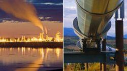 Oléoduc de TransCanada reliant l'Ouest à l'Est: le projet va de
