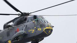 Les hélicoptères Sea King ont 50