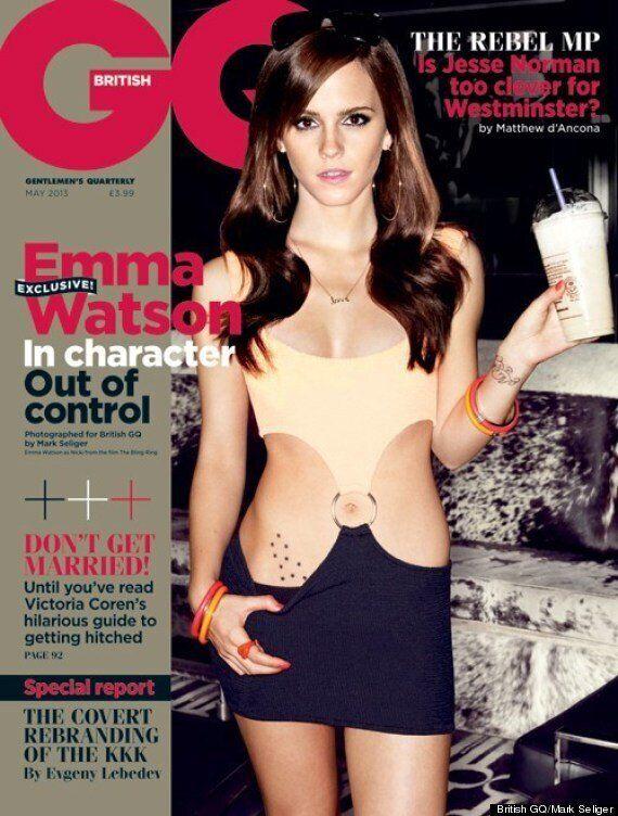 Emma Watson pose en couverture du magazine GQ