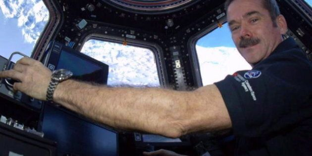 L'astronaute Chris Hadfield publiera «An Astronaut's Guide to Life on