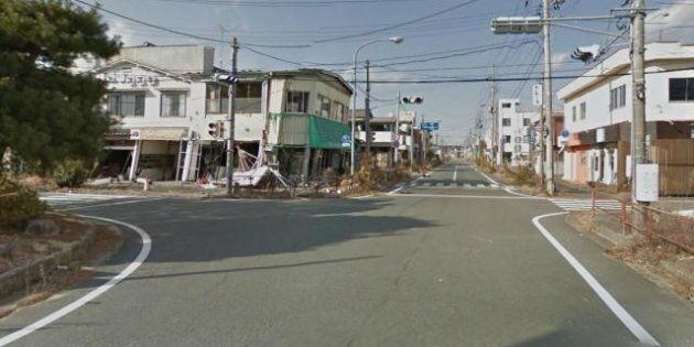 Fukushima: Google map propose une visite virtuelle d'une ville fantôme près de la centrale nucléaire
