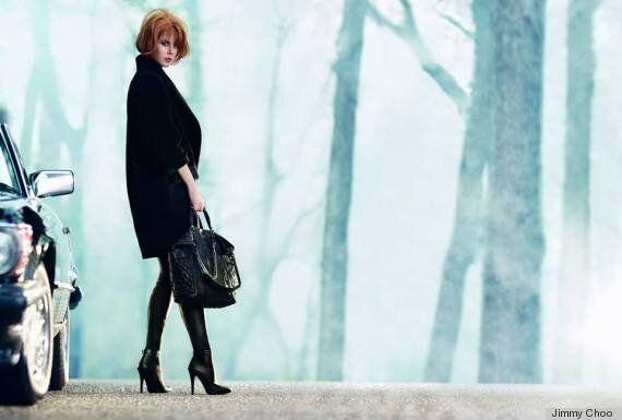 Nicole Kidman et Jimmy Choo: la star pose pour la publicité de la collection hiver 2013 de la marque...
