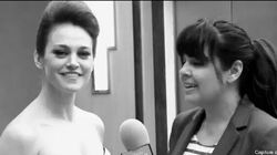 Lucie Laurier jase Cannes et Swarovski