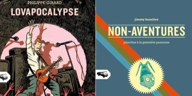 Mécanique générale lancent deux nouvelles bandes dessinées des auteurs Jimmy Beaulieu et Philippe