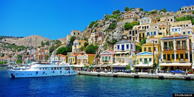 greece   pictorial island symi...