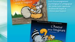 «Luron et Zébulon – L'enfant face à la maladie grave d'un parent»: textes: Line St-Amour, Ph.D., dessins: Marc Beaudet (éditi...