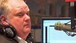 L'émission radio de Rob Ford est annulée cette