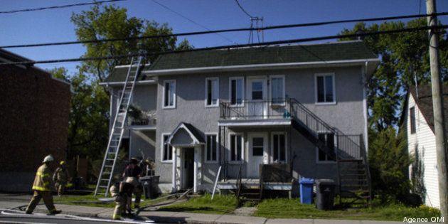 Incendie à Ste-Thérèse: 5 personnes inconscientes dont trois