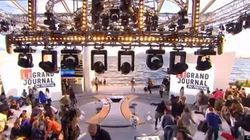 Cannes: le Grand Journal de Canal + interrompu