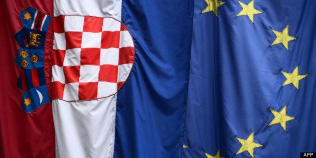 La Croatie est devenue le 28e membre de l'Union