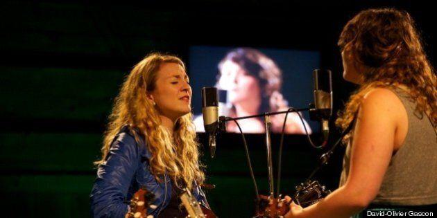 Festival en chanson de Petite-Vallée: doux retour aux sources pour les Sœurs Boulay