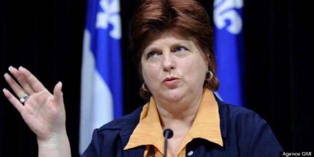 Laval: la ministre Nicole Léger insatisfaite de la situation à la