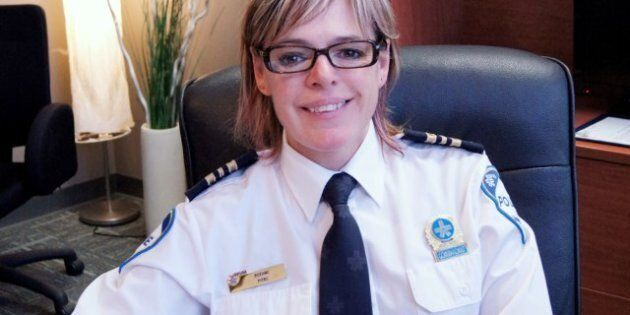 Roxane Pitre: police dans l'âme, justice dans le