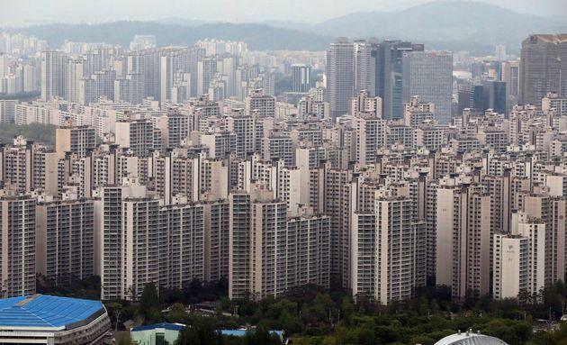 아파트 평균 거래가격이 다시 7억원대로