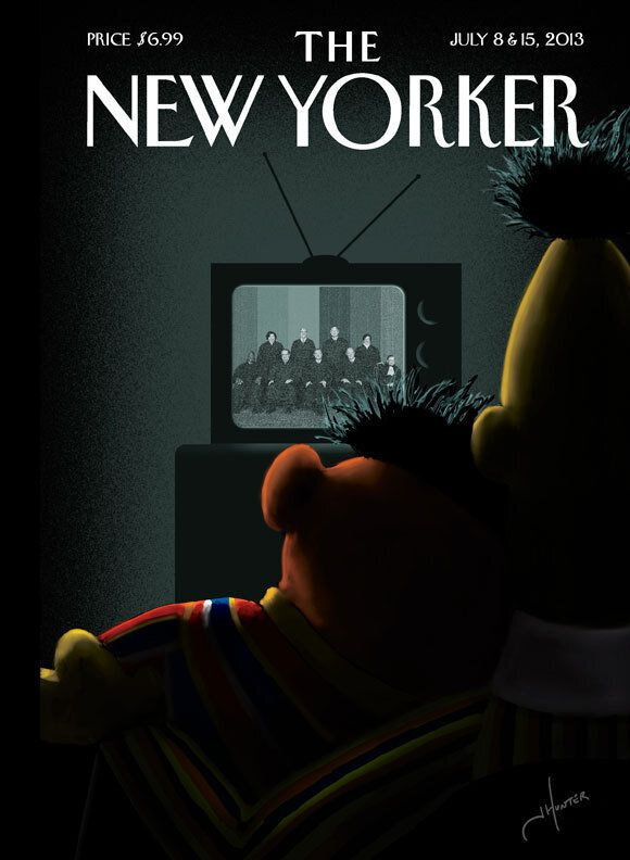 The New Yorker fête le mariage pour tous à sa manière