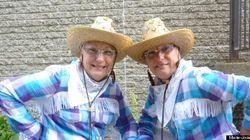 Défilé des jumeaux de Juste pour rire : deux par deux