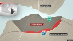 Transfert de terres à Kahnawake, tollé de