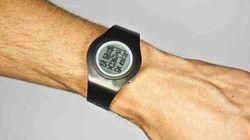 Cette montre fait le décompte du temps qu'il vous reste à