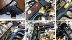 Des armes à feu en vente sur Instagram