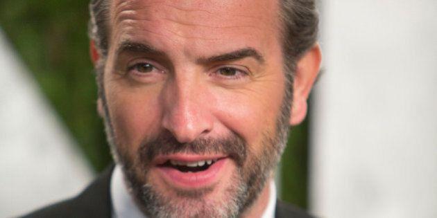 Jean Dujardin arrives for the 2013 Vanity Fair Oscar Party on February 24, 2013 in Hollywood, California....