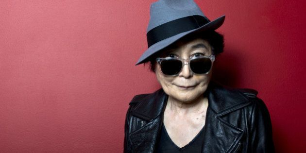 LONDON, ENGLAND - JUNE 22: (EXCLUSIVE COVERAGE) Yoko Ono introduces a special screening of 'GasLand'...