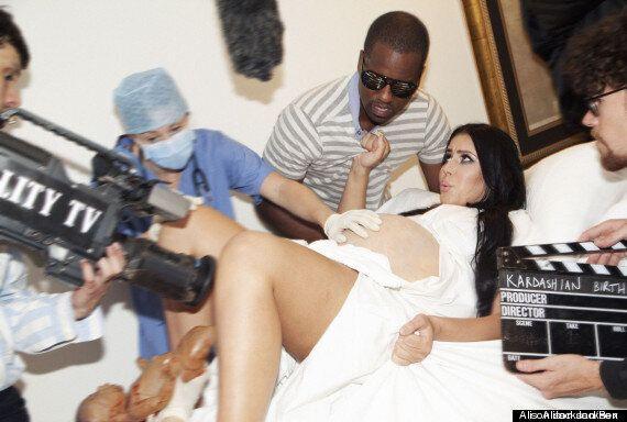Kanye West et Kim Kardashian: l'artiste Alison Jackson célèbre à sa manière la naissance de North West,...
