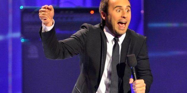 Au Gala de l'ADISQ, Louis-José Houde ne chante pas mais… il
