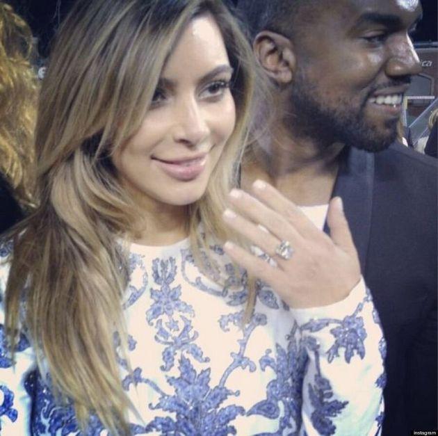 La (méga) demande en mariage de Kanye West à Kim Kardashian