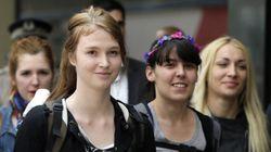 Libération des trois militantes de Femen détenues en