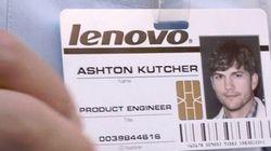 Après Apple, Ashton Kutcher devient ingénieur chez Lenovo