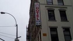 L'hôtel le plus miteux de New-York