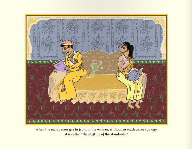«Le Kama Sutra du mariage: Le guide du sexe le moins érotique au monde»: Une mise en garde pour tous...
