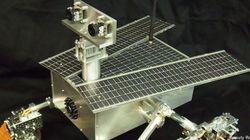 Un robot martien construit par deux fillettes de 11 et 13 ans