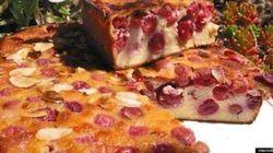 La recette du week-end: Clafoutis amandine aux