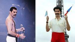 Queen ne veut pas de Borat en Freddie Mercury