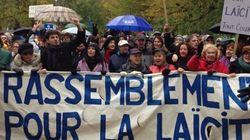 Les pro Janettes manifestent à Montréal