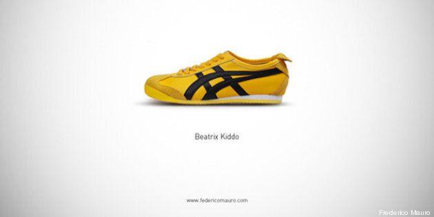 Mark Zuckerberg, Clint Eastwood, Carrie Bradshaw... Les chaussures de stars mises à l'honneur par l'artiste...