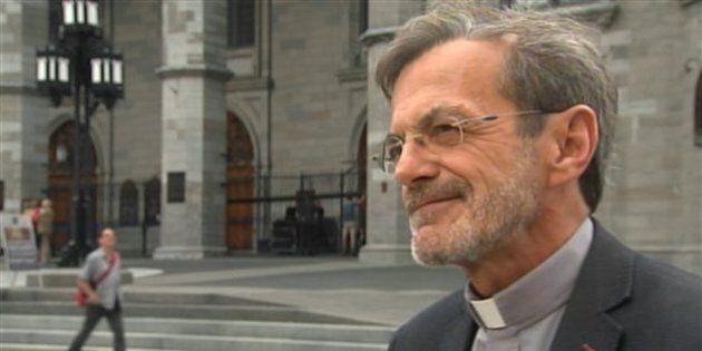 L'abbé Raymond Gravel atteint d'un grave