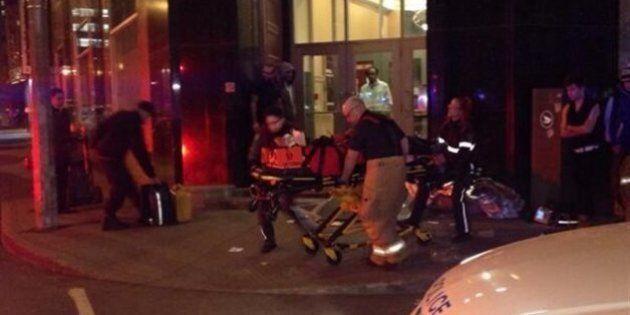 Trois personnes poignardées au centre-ville de