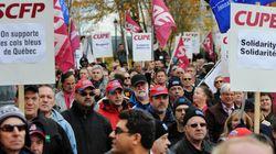 Une lettre de menaces vise les dirigeants syndicaux des cols bleus de