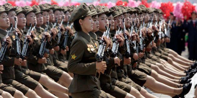 Corée du Nord: Pyongyang expose sa puissance dans une parade militaire géante