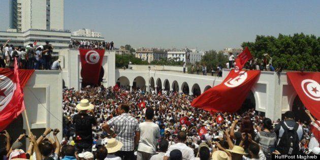 Tunisie: funérailles nationales pour l'opposant assassiné, Mohamed Brahmi (PHOTOS/