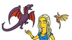 Découvrez les personnages de Game of Thrones transformés en Simpson