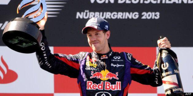 Vettel remporte son 1er Grand Prix chez lui en
