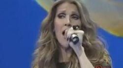 Céline Dion chante en mandarin