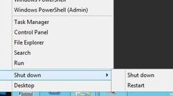 Windows 8 retrouve le menu