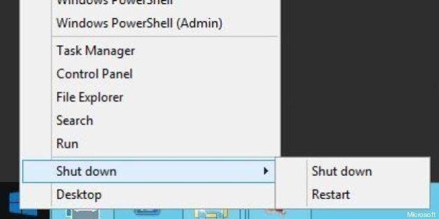 Windows 8: le menu «Démarrer» se dévoile dans une série de captures