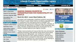 Un communiqué annonce par erreur une initiative du «Harper