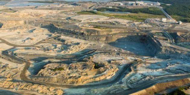 La minière Osisko s'apprête à lancer un dynamitage de 380 000 tonnes à